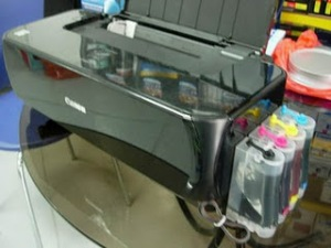 Infus/Modifikasi CISS Canon IP1980